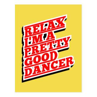 RELAX DANCER AMAZON POSTCARD