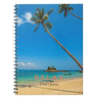 Relax Don't Panic Notebook/Journal Notebooks