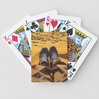 Relax, enjoy the day bicycle playing cards