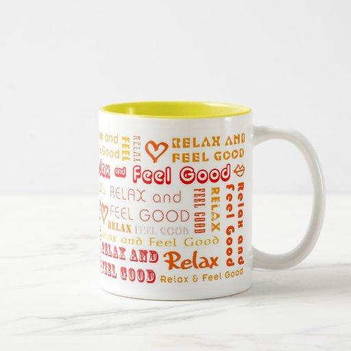 ::: Relax & Feel Good (Orange) ::: Mug