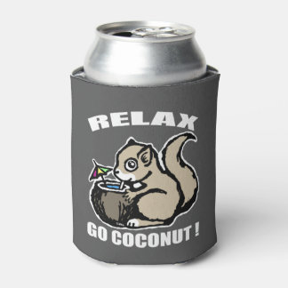 Relax! Go Coconut Can Cooler