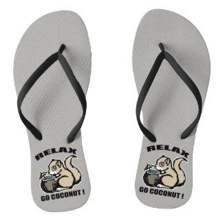 Relax! Go Coconut Flip Flops