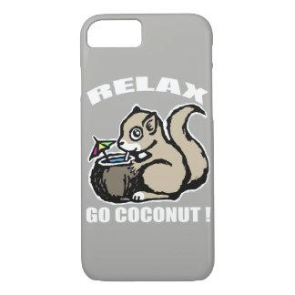 Relax! Go Coconut iPhone 8/7 Case