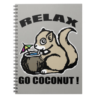 Relax! Go Coconut Notebook