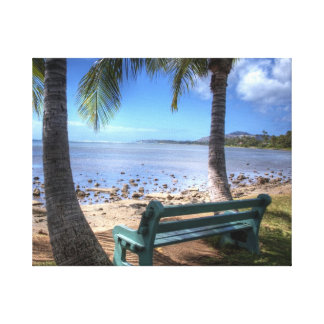 Relax - Honolulu's East Side Canvas Print