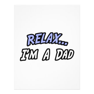 Relax, I'm a Dad Flyer Design