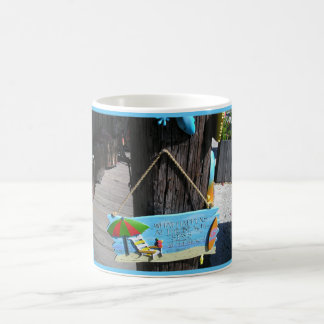 relax in key west florida coffee mug