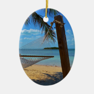 Relax in the Bahamas Ceramic Ornament
