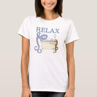Relax Mermaid in the Bath Night Shirt