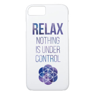 Relax Mindfulness Buddha Quote Case-Mate iPhone Case