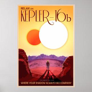 Relax on Kepler-16b Poster