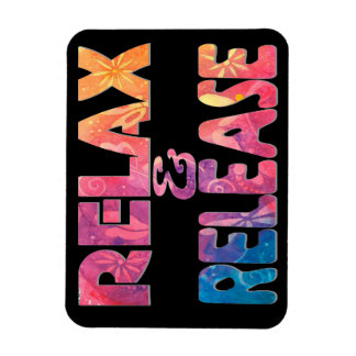 Relax & Release New Age Original Art Magnet