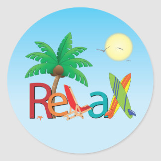 Relax Stickers
