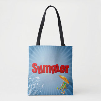 Relax Summer Fun Holiday Lounger - Tote Bag