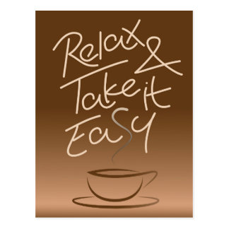 Relax & Take it Easy Postcard