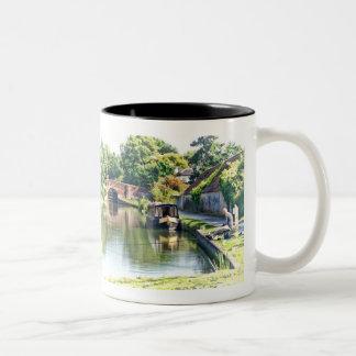 Relaxation Two-Tone Coffee Mug