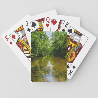 Relaxing At The Creek Playing Cards