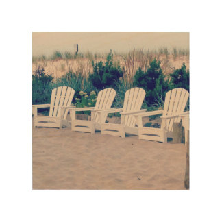 Relaxing Beach Life Wall Art Wood Prints