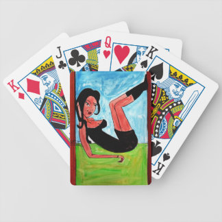 Relaxing Bicycle Playing Cards