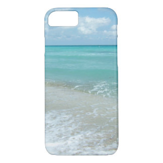 Relaxing Blue Beach Ocean Landscape Nature Scene Case-Mate iPhone Case