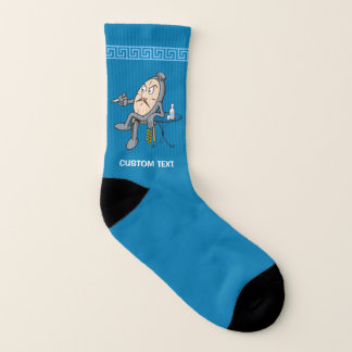 Relaxing clock socks