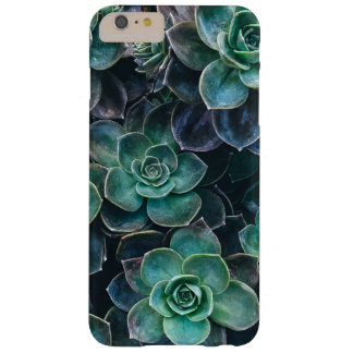 Relaxing Green Blue Succulent Cactus Plants Barely There iPhone 6 Plus Case