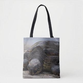 Relaxing Honu Tote Bag