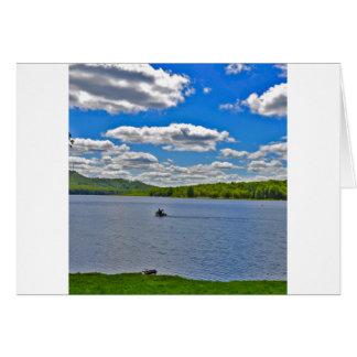 Relaxing Lake Card