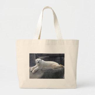 Relaxing Polar Bear Bag