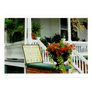 Relaxing Porch Postcard