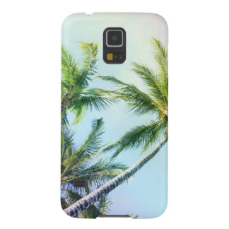 Relaxing Rainbow Color Palms Cases For Galaxy S5