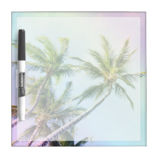 Relaxing Rainbow Color Palms Dry-Erase Boards