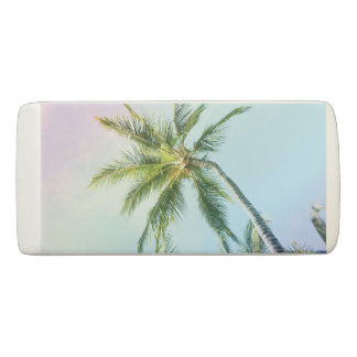 Relaxing Rainbow Color Palms Eraser