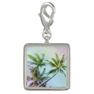 Relaxing Rainbow Color Palms Photo Charms