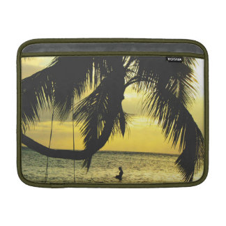 Relaxing Romantic Beach Scence MacBook Air Sleeve
