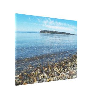 Relaxing Shoreline Canvas Print
