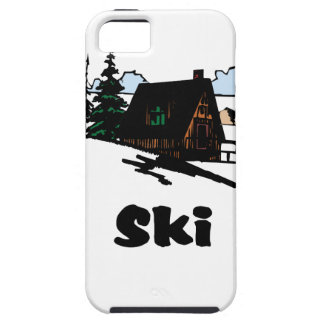 Relaxing Ski Lodge iPhone 5 Case
