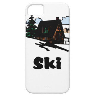 Relaxing Ski Lodge iPhone 5 Cases