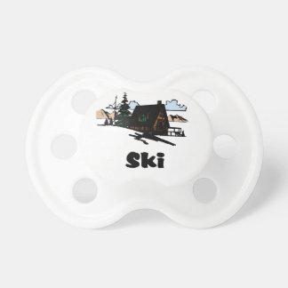 Relaxing Ski Lodge Pacifier