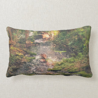 Relaxing Stream Pillow