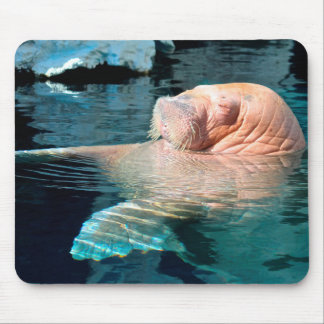Relaxing Walrus Mouse Pad