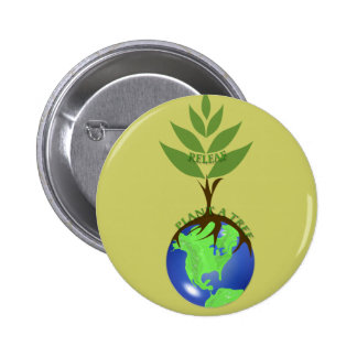 ReLeaf Plant A Tree 2 Inch Round Button