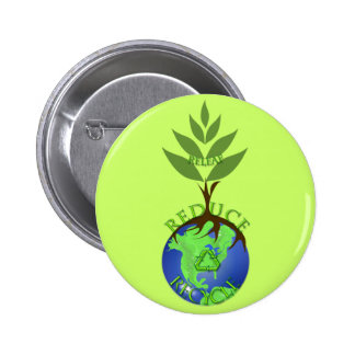 Releaf Reduce Recycle Pins