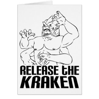 Release the Kraken Card