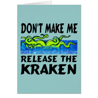 Release the Kraken Cards