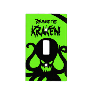 Release the KRAKEN! Light Switch Cover