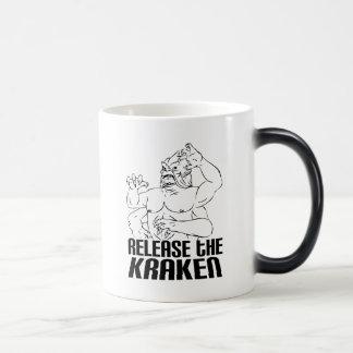 Release the Kraken Morphing Mug