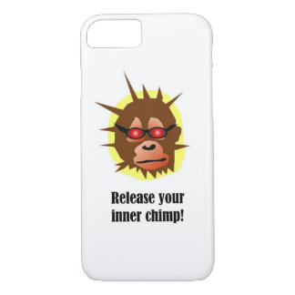 Release your inner chimp Case-Mate iPhone case