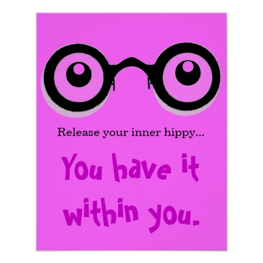 Release Your Inner Hippy Poster