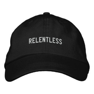 relentless embroidered hat